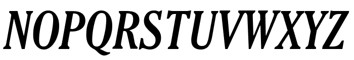 Thyssen J Italic Font UPPERCASE