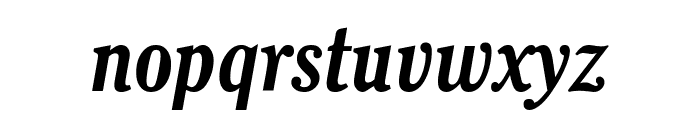 Thyssen J Italic Font LOWERCASE