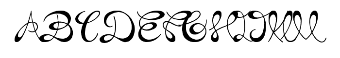 the Daily Bread Font UPPERCASE