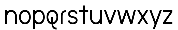 the brooklyn bold Font LOWERCASE