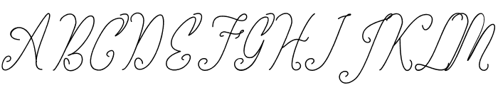 the kastle Font UPPERCASE