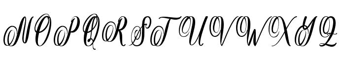theella Font UPPERCASE