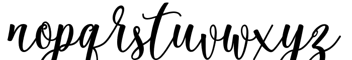 theella Font LOWERCASE