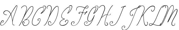 thekastle Font UPPERCASE