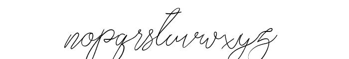 thekastle Font LOWERCASE