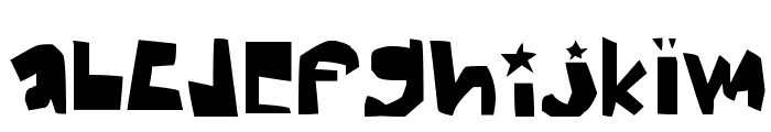 thick Font LOWERCASE