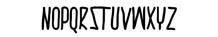thrasherhandBold Font LOWERCASE