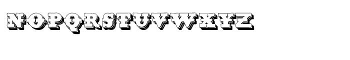 Tharagaverung Shadow Font LOWERCASE