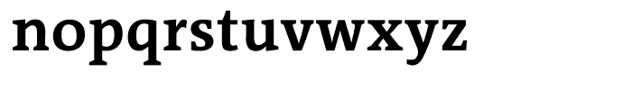 The Antiqua Sun Bold Font LOWERCASE