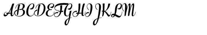 The Carpenter Bold Font UPPERCASE