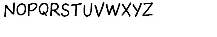 The Sculptor Regular Font LOWERCASE
