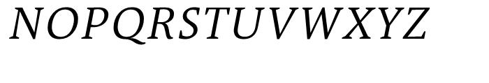 TheAntiqua 4c SemLight Italic Font UPPERCASE