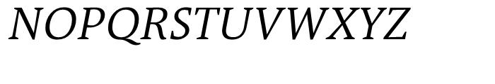 TheAntiquaB C2 SemiLight Italic Font UPPERCASE