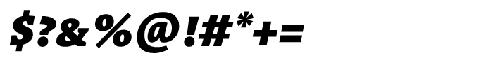 TheAntiquaB E3c 9c Black Italic Font OTHER CHARS