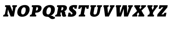 TheAntiquaB E3c 9c Black Italic Font UPPERCASE