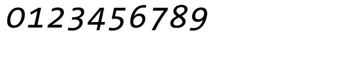 TheSans Mono W5 Regular Italic Font OTHER CHARS