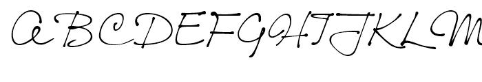 Thought Regular Font UPPERCASE