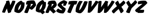 Thrills Regular Font UPPERCASE