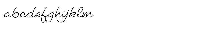 Thystle Mono1 Font LOWERCASE