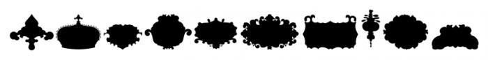 The Black Shapes Regular Font OTHER CHARS