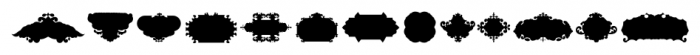 The Black Shapes Regular Font UPPERCASE