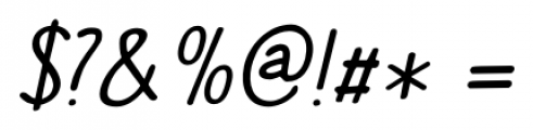 The Cat's Whiskers Italic Font OTHER CHARS