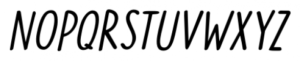 The Cat's Whiskers Italic Font UPPERCASE