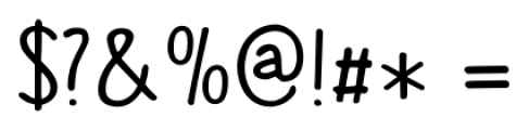 The Cat's Whiskers Regular Font OTHER CHARS