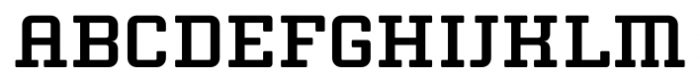 Thousands Bold Font UPPERCASE