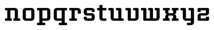 Thousands Bold Font LOWERCASE