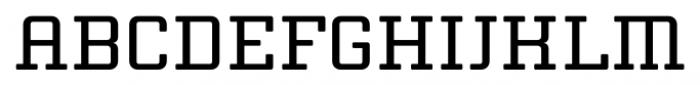 Thousands Regular Font UPPERCASE