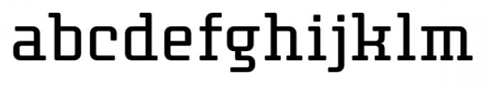 Thousands Regular Font LOWERCASE
