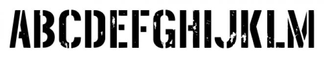 Threefortysixbarrel Intake Font UPPERCASE