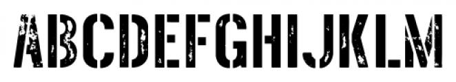 Threefortysixbarrel Intake Font LOWERCASE