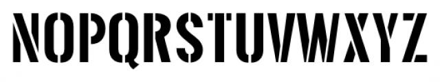 Threefortysixbarrel Regular Font UPPERCASE