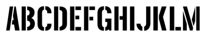 Threefortysixbarrel Regular Font LOWERCASE