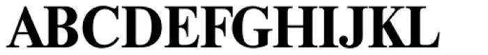 Thames Serial Bold Font UPPERCASE