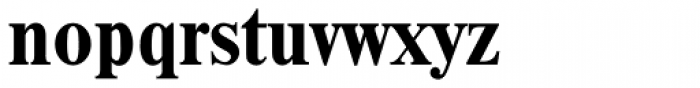 Thames Serial Bold Font LOWERCASE