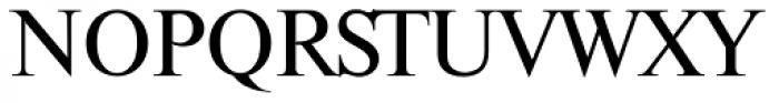 Thames Serial Font UPPERCASE