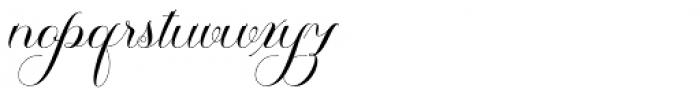 Thamron Regular Font LOWERCASE