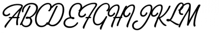 Thang Bold Font UPPERCASE