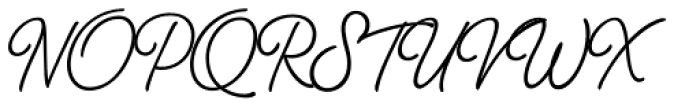 Thang Regular Font UPPERCASE
