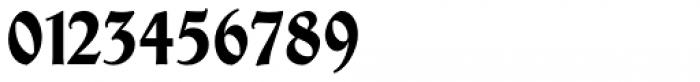 Thannhaeuser Fraktur Bold Condensed Font OTHER CHARS