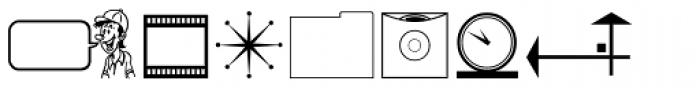 That Stuff JNL Font LOWERCASE
