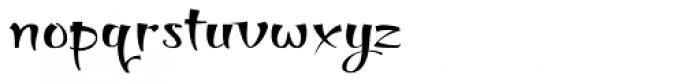 Thaun Accord Wide Font LOWERCASE