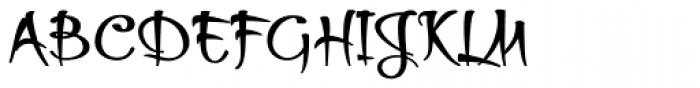 Thaun Black Font UPPERCASE