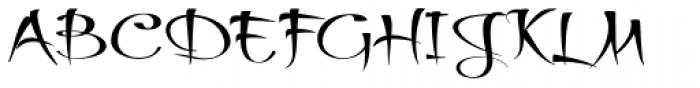Thaun Wide Font UPPERCASE