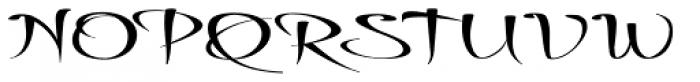 Thaun Wider Font UPPERCASE