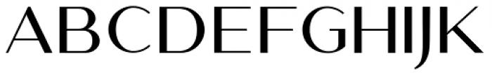The Amoret Collection Sans Font UPPERCASE
