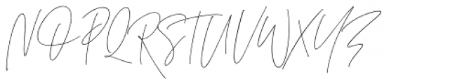 The Amoret Collection Script Alt Font UPPERCASE